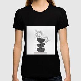 Vibration - Minimalism Mid-Century Modern Forms T-shirt
