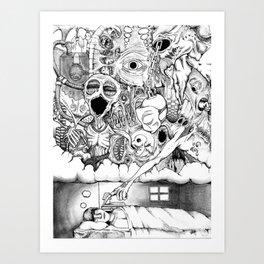 Tainted Dreams Art Print