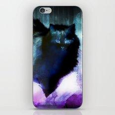 The Spooky Cat iPhone & iPod Skin
