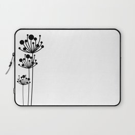 Minimal Floral Laptop Sleeve