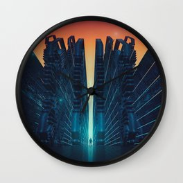 EGFX TECHNO GATEWAY M1116 Wall Clock