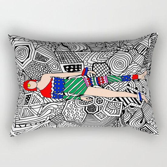 Bowie Fashion 7.5 Rectangular Pillow