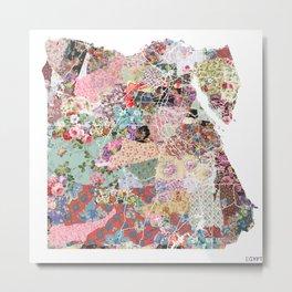 Egypt map Metal Print