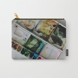 Autumn in Maine Working Palette Carry-All Pouch