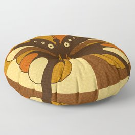 RETRO BUTTERFLY Floor Pillow
