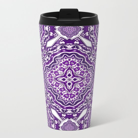 Purple Haze Metal Travel Mug