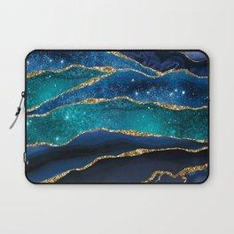 Marble Milky Way Laptop Sleeve