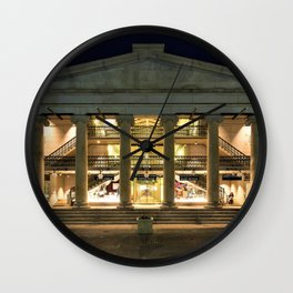 Circa 1828 Providence Arcade - Oldest Mall in America - Providence, Rhode Island Wall Clock