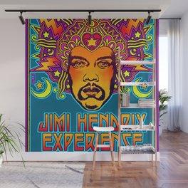 1968 Jimi Hendrix Experience Fillmore East San Francisco Concert Poster Wall Mural