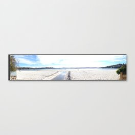 Panoramic Bay Canvas Print
