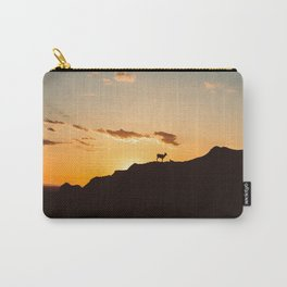 The Goats and the Sunset Carry-All Pouch