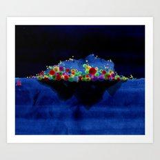 Lonelyisland-迷失的孤岛 Art Print