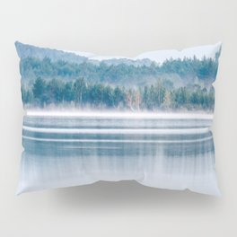 Morning begins with mist Pillow Sham