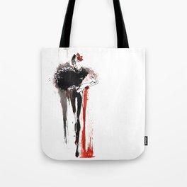 Art illustration woman. Fashion illustration. Tote Bag