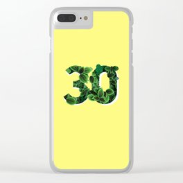 30 Clear iPhone Case