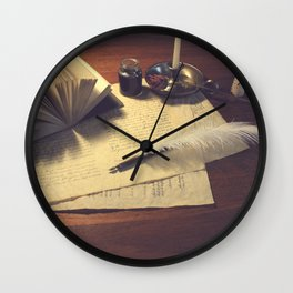Sophistication  Wall Clock