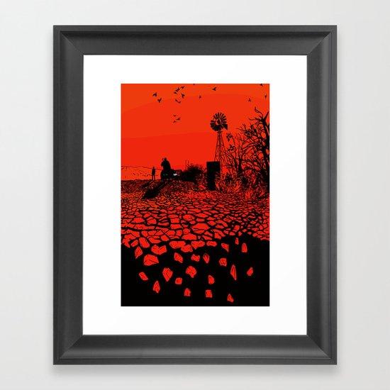 Breaking Bad Poster (alt) Framed Art Print