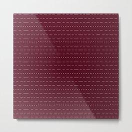 Coit Pattern 52 Metal Print