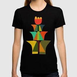 Whimsical bromeliad T-shirt