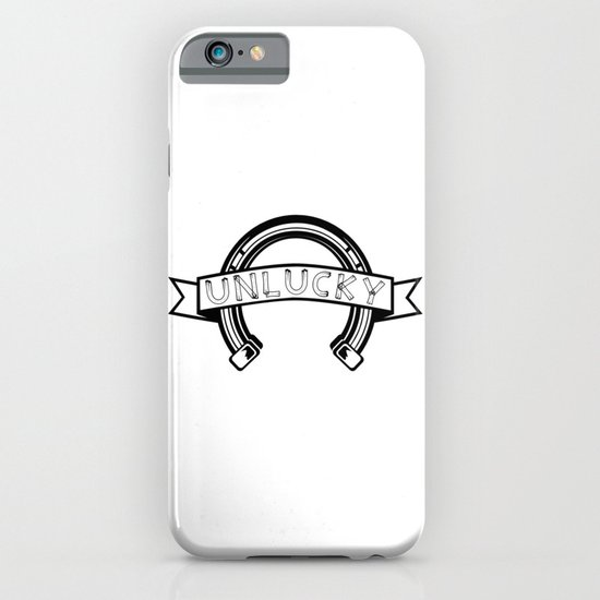 Unlucky Horseshoe iPhone & iPod Case