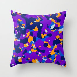 Abstract orgnaic pattern 14 Throw Pillow