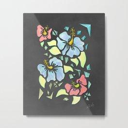 Flor de Maga - Neon Colors Metal Print