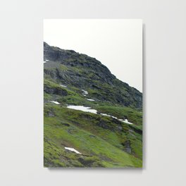 Mossy Mountains Metal Print