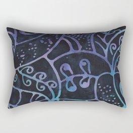 Blue Batik 12 Rectangular Pillow