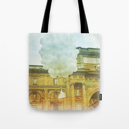 US AND THEM _ leaving them Tote Bag