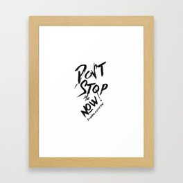 I'm having a good time! Framed Art Print