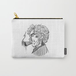 London Smoking Habit (Lineart) Carry-All Pouch