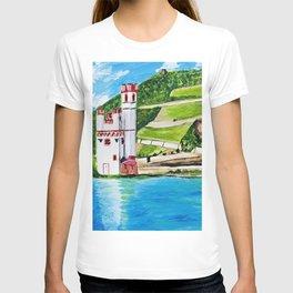Mouse Tower Bingen T-shirt