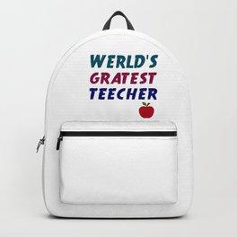 Werld's Gratest Teecher Backpack
