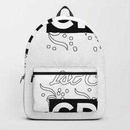 1st Grade Crew - Great Teachers Gift - White Lettering & Logo Design Backpack