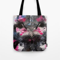 rorschach Tote Bags featuring RORSCHACH by ....