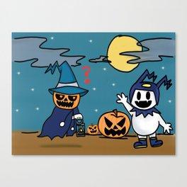 Pyro Jack and Jack Frost (SMT) Canvas Print