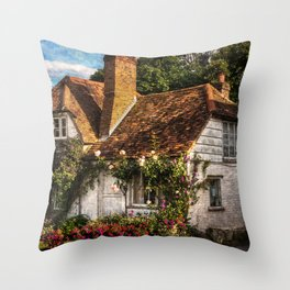 A Chiltern Cottage Throw Pillow