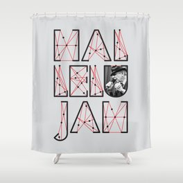 Leonard Cohen Hallelujah Shower Curtain