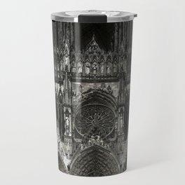 Cathedral Black Travel Mug