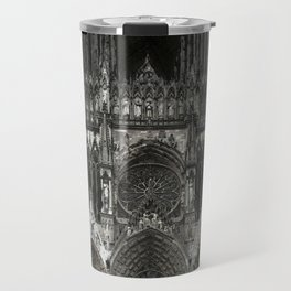 Cathedral Black Travel Mug