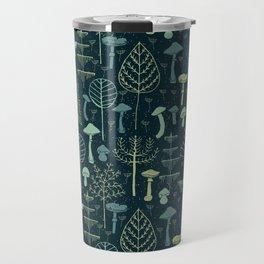 Magic Forest Green Travel Mug