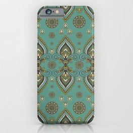 Indian Henna / Asian Bohemian Ethnic Design iPhone Case