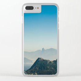 Panoramic Rio de Janeiro Brazil Clear iPhone Case