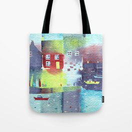 Quiet Harbour Tote Bag