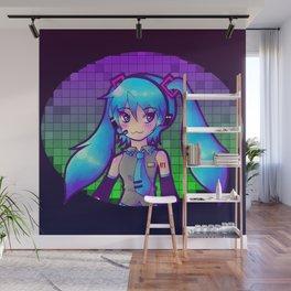Miku Hatsune Wall Mural