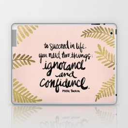 Ignorance & Confidence #2 Laptop & iPad Skin