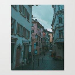 Zurich Alley I Canvas Print