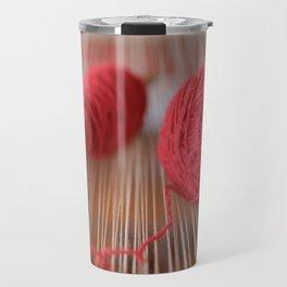 Loom and spindle craft Travel Mug