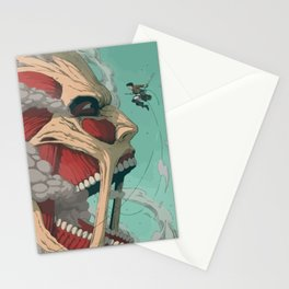 Colossal Titan Stationery Cards