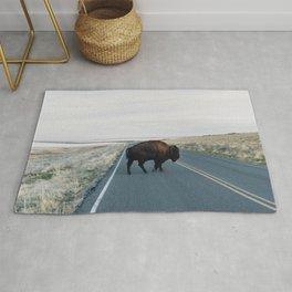 Bison Crossing Rug